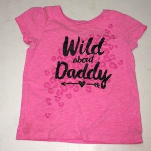 Wild about daddy tee